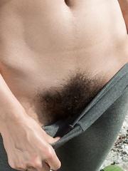 Naked Hairy Yoga